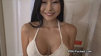 Asian Teen Casting Ended In A Blowjob And Doggystyle